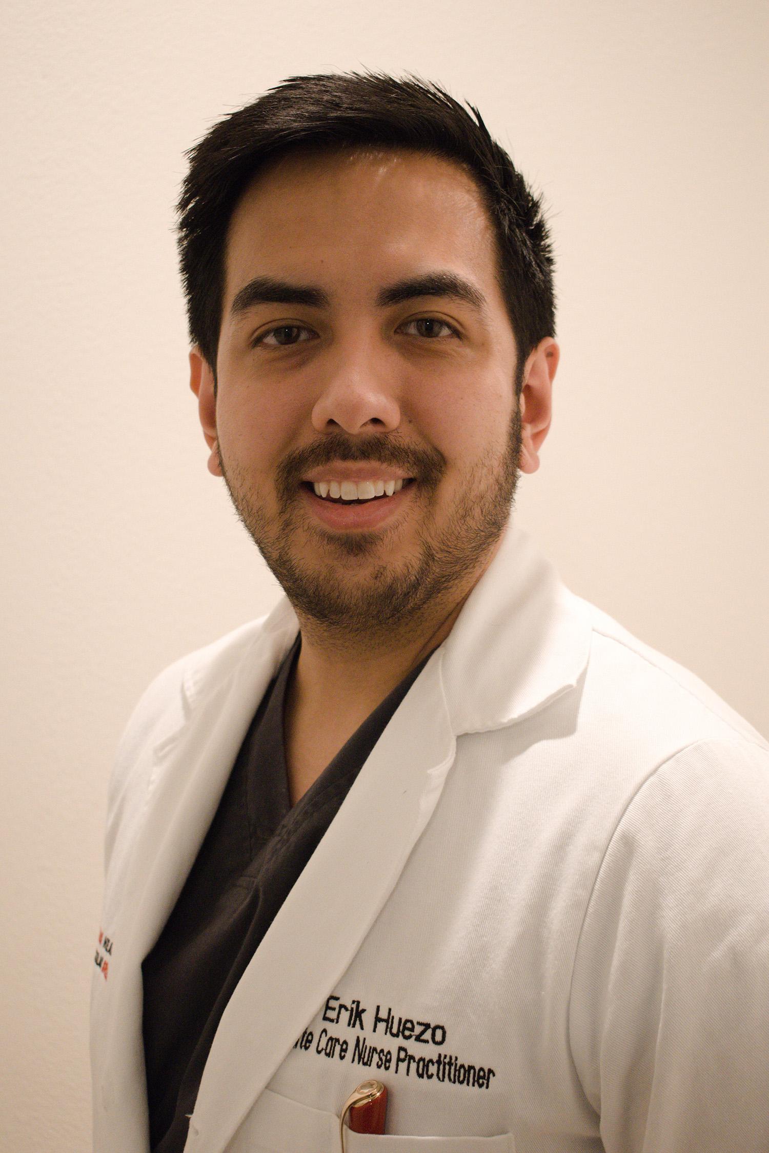 Erik Huezo, Nurse Practitioner